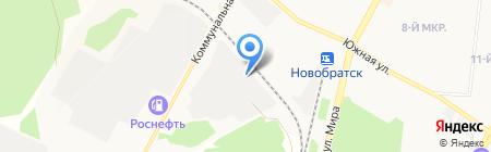 Велес на карте Братска