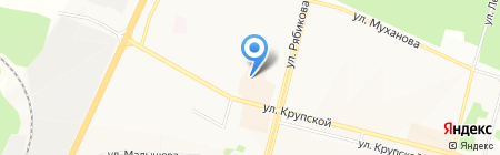 Магазин домашней одежды и текстиля для дома на карте Братска