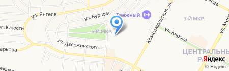 Следственный отдел по Братскому району Следственного Управления Следственного комитета РФ по Иркутской области на карте Братска