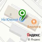 Местоположение компании Братскпромстрой