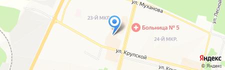 Магазин антенн на карте Братска