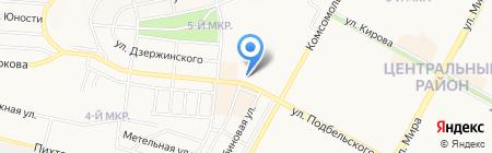 Малина на карте Братска