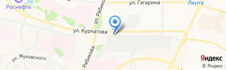 Автосфера на карте Братска