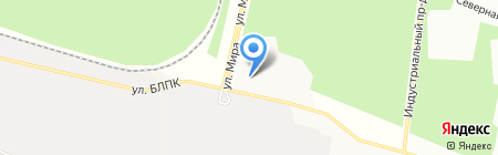 Металлпромстрой на карте Братска