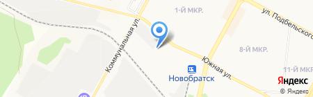 Иркутскэнергосвязь на карте Братска