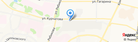 Альфа Моторс на карте Братска