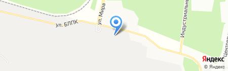 Братская швейная фирма на карте Братска