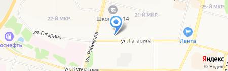 Цезарь на карте Братска