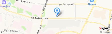 БиПласт на карте Братска