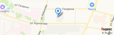 Мастер-Пресс на карте Братска
