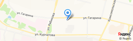 Тонус на карте Братска