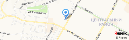 Центральный Банк РФ на карте Братска