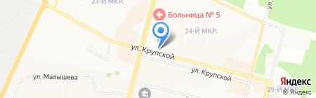 SAMSUNG на карте Братска