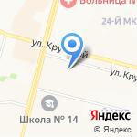 СКБ-банк на карте Братска