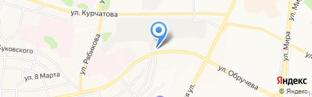Сибирский источник на карте Братска