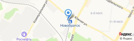 Магазин косметики на карте Братска