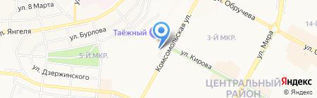 Банкомат МДМ Банк на карте Братска