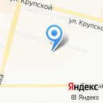 Федерация черлидинга Иркутской области в г. Братске на карте Братска