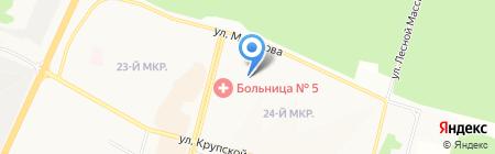 Центр гигиены и эпидемиологии Иркутской области по г. Братску и Братскому району на карте Братска
