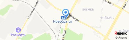 Автостанция на карте Братска