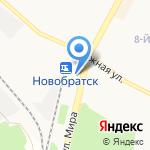 Чеширский КОТ на карте Братска