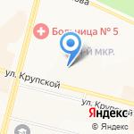 Адвокатский кабинет Иванова П.А. на карте Братска