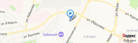 Авто Stop на карте Братска