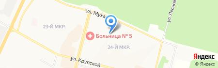 Почтовое отделение №27 на карте Братска