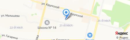 Православная гимназия во имя святителя Иннокентия на карте Братска