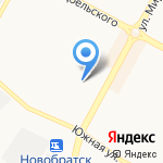 Праздничное агентство на карте Братска