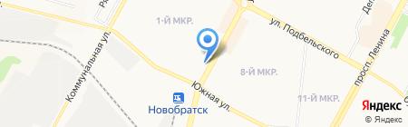 Кабач`ОК на карте Братска