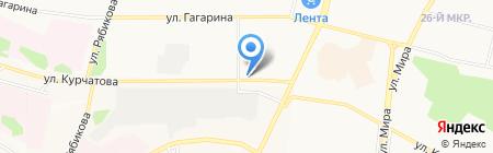 Автомаркет на карте Братска
