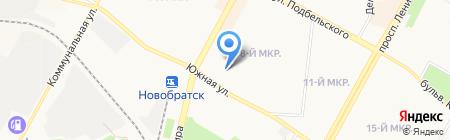 АНАТОМИЯ на карте Братска