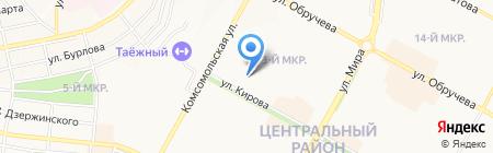 Mobile Service на карте Братска