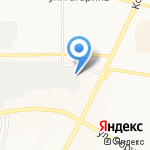 Автосервис по ремонту автопластмасс на карте Братска