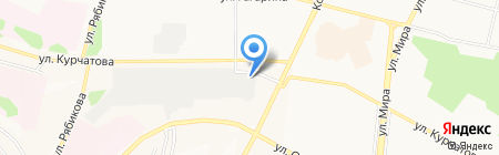 Автосервис на карте Братска