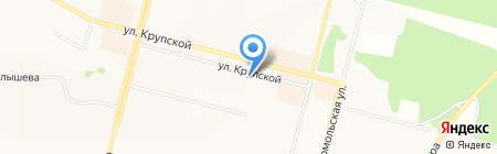 O`stin на карте Братска