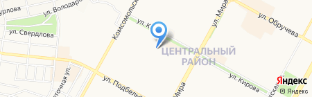 Оптово-розничная компания на карте Братска