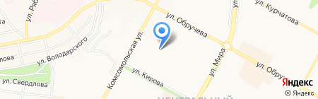 Банкомат Райффайзенбанк на карте Братска