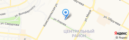 Средняя общеобразовательная школа №31 им. А.П. Жданова на карте Братска