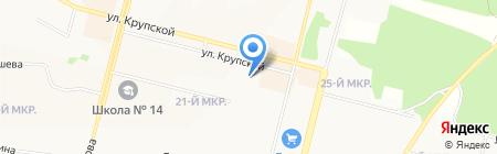 Стиль-Проект на карте Братска