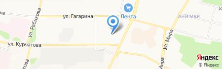 Косметический кабинет на карте Братска