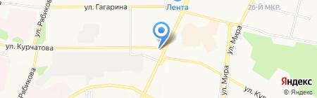 Шиносервис на карте Братска