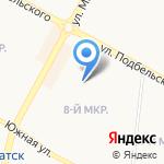 Мировые судьи Центрального района г. Братска на карте Братска