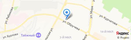 Банкомат КБ Юниаструм Банк на карте Братска