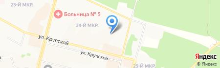 Детский сад №99 Игрушка на карте Братска