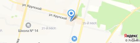 Ателье на карте Братска