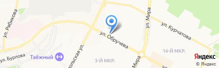 Банкомат Байкальский Банк Сбербанка России на карте Братска