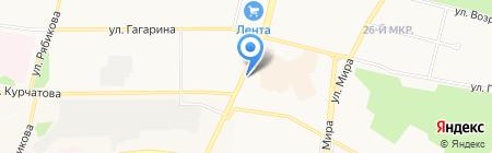 МТС на карте Братска