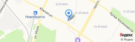 Отдел полиции №2 Управления МВД РФ по г. Братску на карте Братска